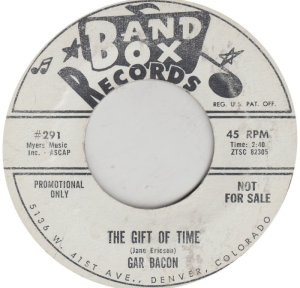 BACON GAR - BAND BOX 291 DJ