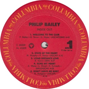 BAILEY PHILIP - COL 40209 - RA