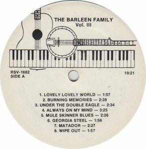 BARLEEN FAMILY BF 4158 - RA