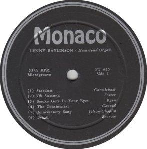 BAYLINSON - MONACO 665