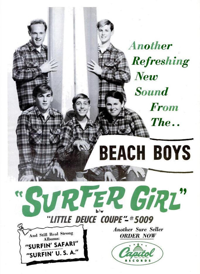 Beach Boys - 07-63 - Surfer Girl