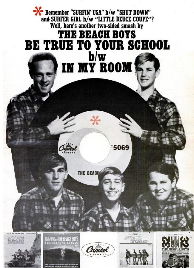 Beach Boys - 10-64 - Be True to Your School