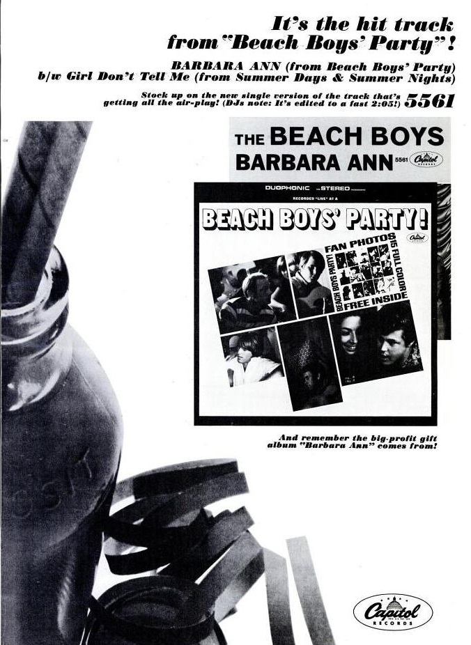 Beach Boys - 11-65 - Barbara Ann