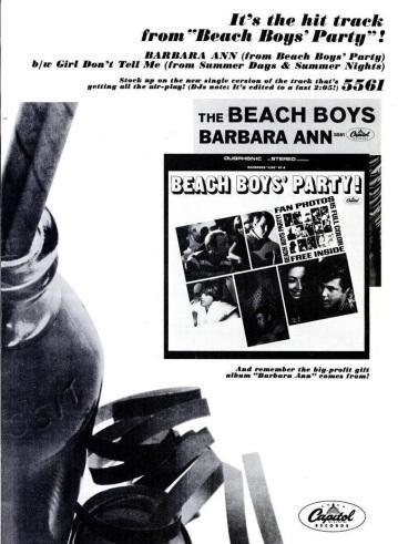 Beach Boys - 11-65 - Barbara Ann