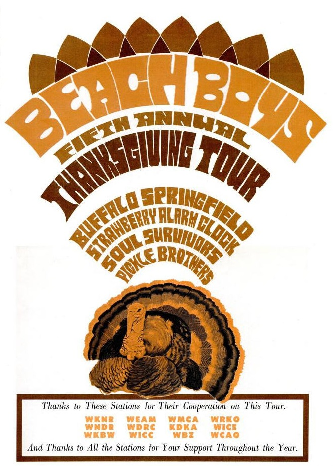 Beach Boys PLUS - 11-67 - Thanksgiving Tour