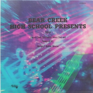 BEAR CREEK HIGH SCHOOL MUSIC - CENTURY 34219 - RAB (3)
