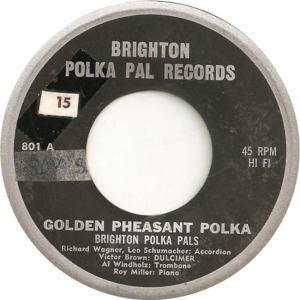 Brighton Records 801 - Brighton Polka Pals - Golden Pheasant Polka