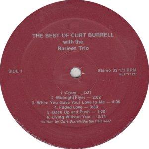 BURRELL CURT - RAINBOW 1122