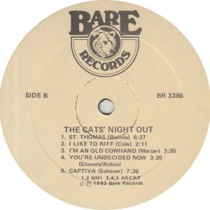 CATS NIGHT OUT - BARE 3386 - R_0001