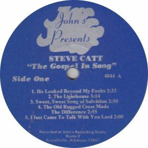 CATT STEVE - JOHNS 4844 A