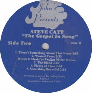 CATT STEVE - JOHNS 4844 B
