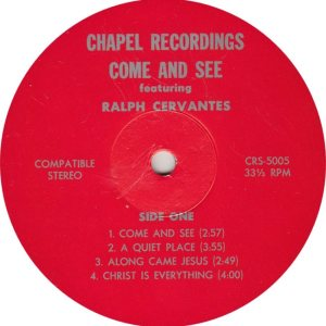 CERVANTES - CHAPEL 5005 R