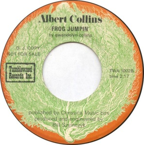 COLLINS ALBERT - TUMBLEWEED 1002 B