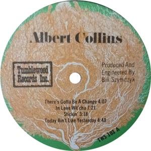 COLLINS ALBERT - TUMBLEWEED LP C