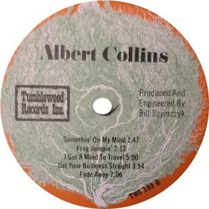 COLLINS ALBERT - TUMBLEWEED LP D