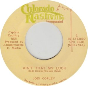 COPLEY JODI - COLORADO NASHVILLE 3