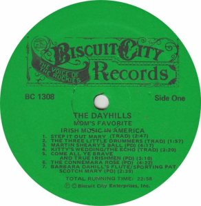 DAYHILLS - BISCUIT 1308 - RA