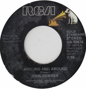 DENVER JOHN - RCA 10474 - GS ADD B