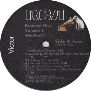 DENVER JOHN - RCA 2195 - RA