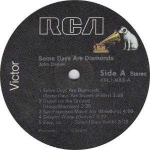 DENVER JOHN - RCA 4055 - RA