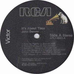DENVER JOHN - RCA 4683