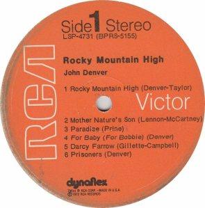 DENVER JOHN - RCA 4731