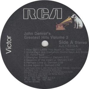 DENVER JOHN - RCA 5313 - R