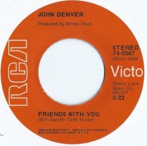 DENVER JOHN - RCA 567 a