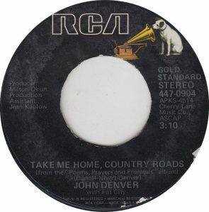 DENVER JOHN - RCA 904 - GS 75 RA