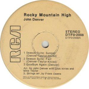 DENVER JOHN - RCA EP 2008