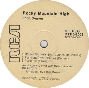 DENVER JOHN - RCA EP 2008_0001