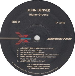 DENVER JOHN - WINDSTAR 72850 A (2)
