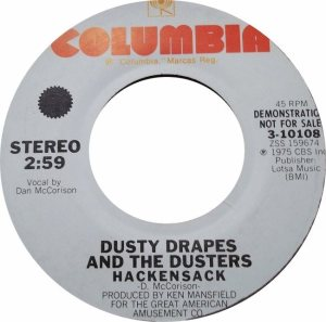 DRAPES DUSTY - COLUMBIA