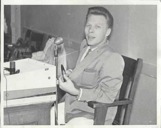 "A very young Ray Durkee from ""Sunday at the Memories web site"