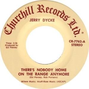 DYCKE JERRY - CHURCHILL 7762