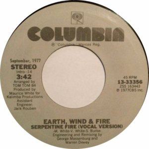 earth-wind-and-fire-serpentine-fire-vocal-version-columbia-hall-of-fame 1979