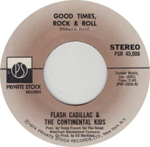 FLASH CADILLAC - PRIVATE STOCK 45006