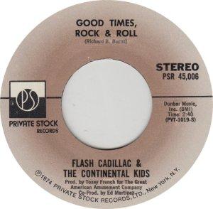 FLASH CADILLAC - PRIVATE STOCK 45006