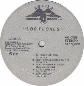 FLORES - AGUILA 9 - R A
