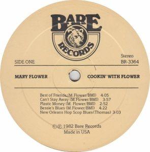 FLOWER MARY - BARE 3364 - RA