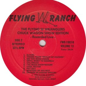 FLYING W WRANGERS - FWR 1982 R_0001
