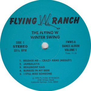 FLYING W WRANGLERS - FW 1978 R