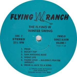FLYING W WRANGLERS - FW 1978 R_0001