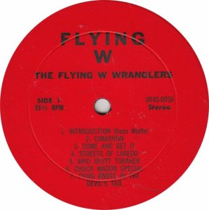 FLYING W WRANGLERS - FW 50 - RA