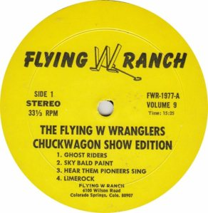 FLYING W WRANGLERS - FW1977 RA