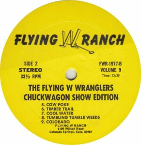 FLYING W WRANGLERS - FW1977 RBB (1)