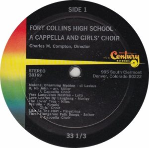 FORT COLLINS HIGH SCHOOL - CENTURY 38169 - RA