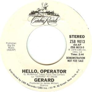 GERARD - CARIBOU 9013 DJ