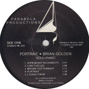 GOLDEN BRIAN - PARABOLA 333 R