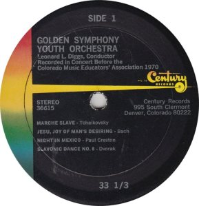 GOLDEN SYMPHONY - CENTURY 36615 - YOUTH ORCH A (1)